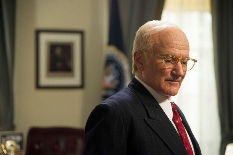 The Butler - Un maggiordomo alla Casa Bianca: Robin Williams in una scena del film nei panni di Dwight D. Eisenhower