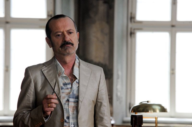 Un boss in salotto: Rocco Papaleo in una scena del film