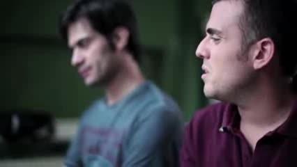 Valerio Di Benedetto e Cristian Di Sante in una immagine del film Spaghetti Story
