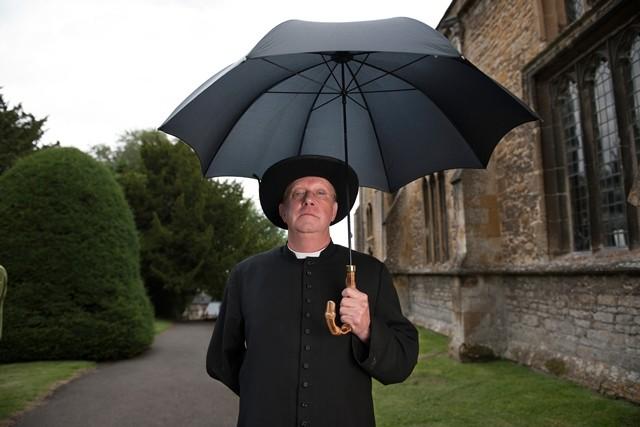 Padre Brown: Mark Williams in una foto promozionale