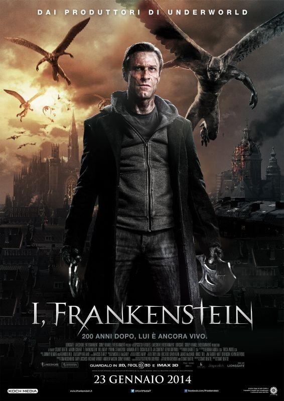 I, Frankenstein -  La locandina italiana