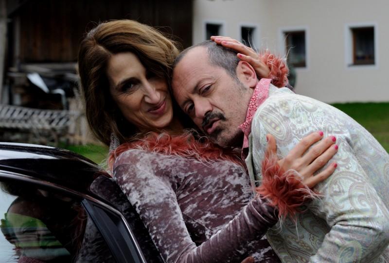 Rocco Papaleo è... Un boss in salotto - immagine esclusiva dal set del film