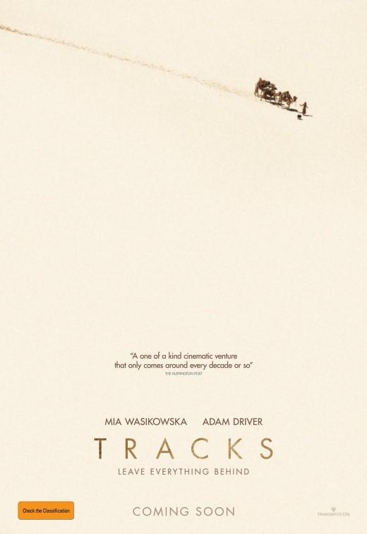 Tracks: la locandina del film