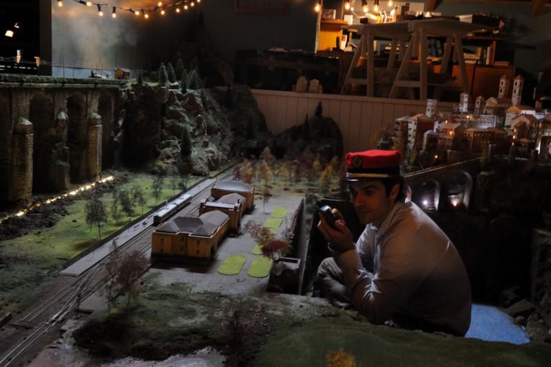 Un boss in salotto: Luca Argentero in una immagine del film - foto esclusiva