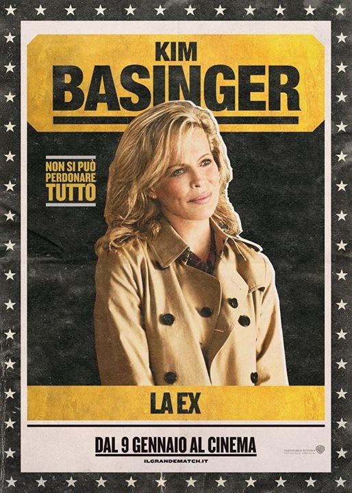 Il grande match: character poster italiano per Kim Basinger