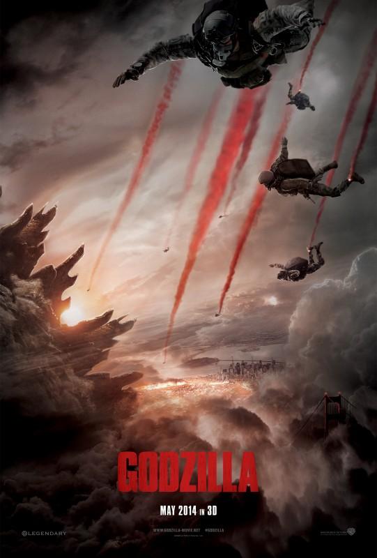 Godzilla: nuovo teaser poster del film