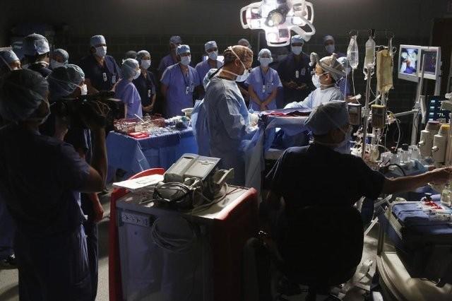 Grey's Anatomy: una scena dell'episodio Man on the Moon