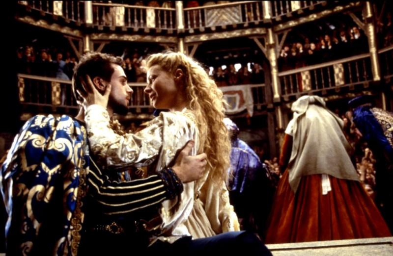Gwyneth Paltrow con Joseph Fiennes in Shakespeare in Love
