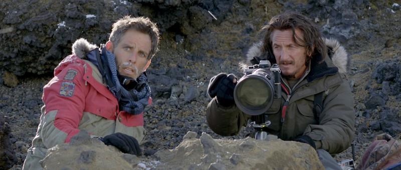I sogni segreti di Walter Mitty: Ben Stiller insieme a Sean Penn in una scena del film