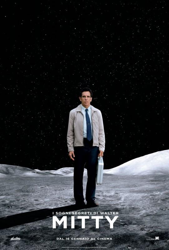 I sogni segreti di Walter Mitty: nuovo poster italiano del film