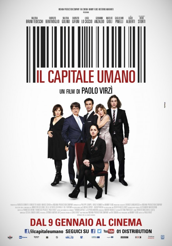 Il capitale umano - poster esclusivo del film