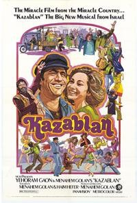Kazablan: la locandina del film
