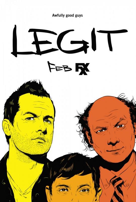 Legit: un nuovo poster della serie
