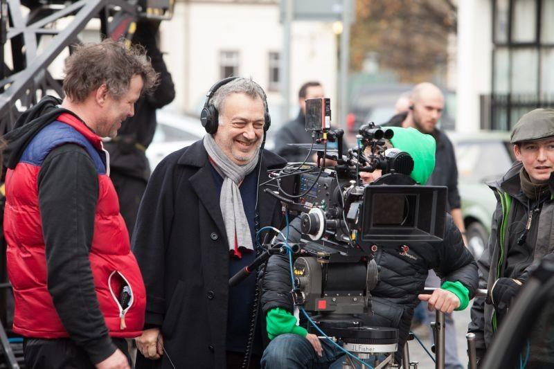 Philomena: il regista del film Stephen Frears sul set