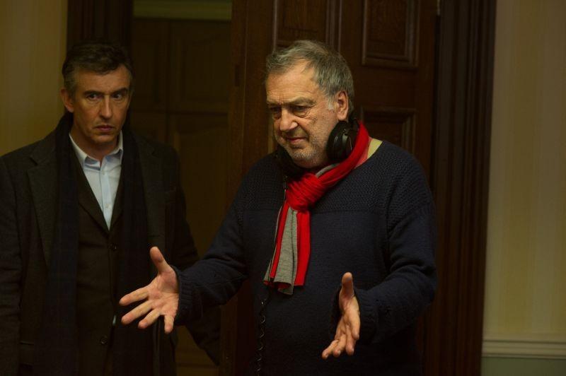 Philomena: il regista del film Stephen Frears sul set con Steve Coogan