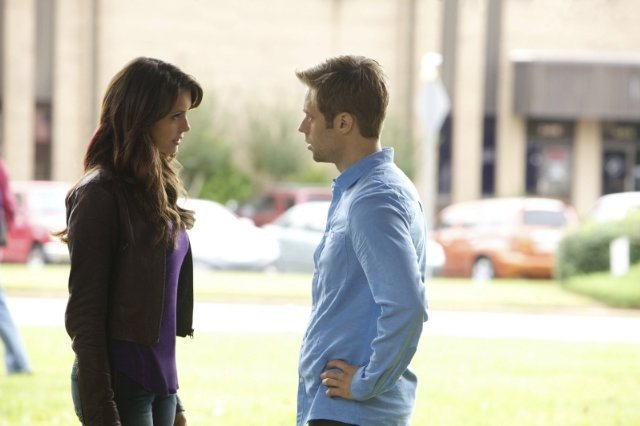 The Vampire Diaries: Shaun Sipos e Nina Dobrev nell'episodio The Cell