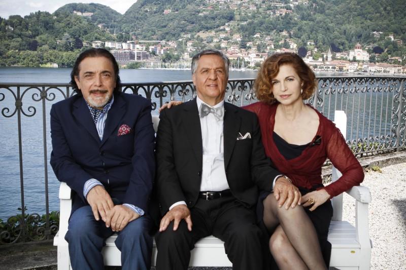 Casa e bottega: Renato Pozzetto, Nino Frassica ed Anna Galiena nella fiction
