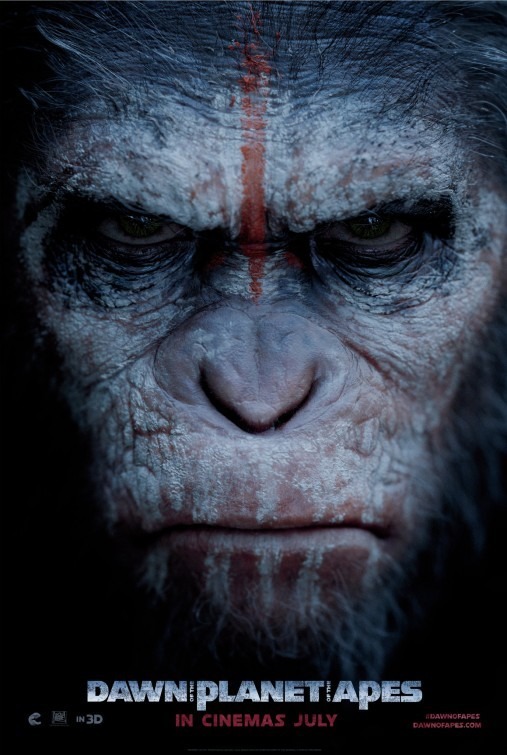 Dawn of the Planet of the Apes: teaser poster 1