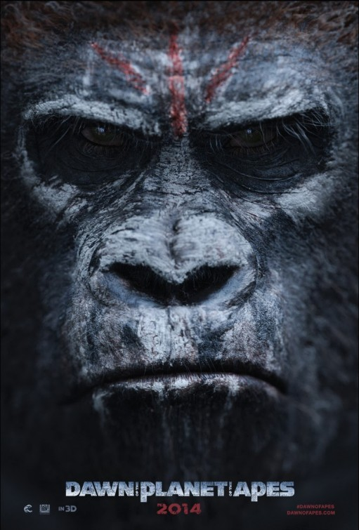 Dawn of the Planet of the Apes: teaser poster 3