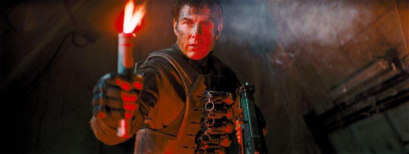 Edge of Tomorrow - Senza domani: Tom Cruise in un momento del film