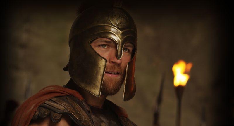 Hercules: La leggenda ha inizio, il protagonista Kellan Lutz in un bel primo piano tratto dal film