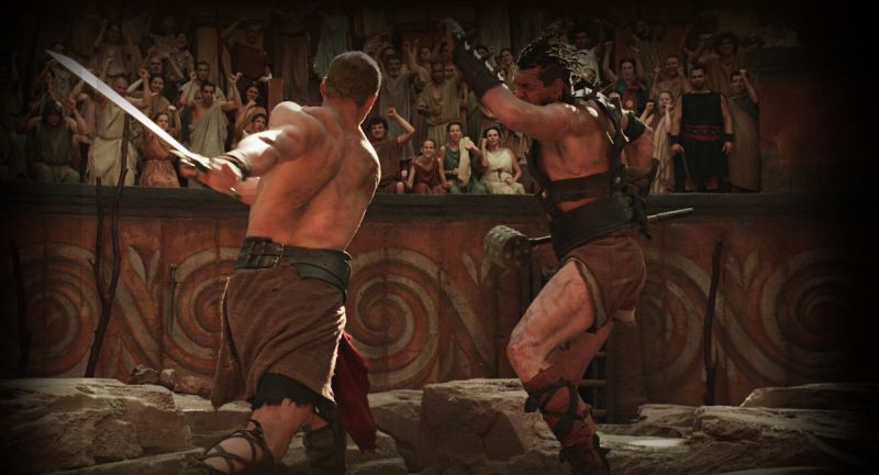 Hercules: La leggenda ha inizio, Kellan Lutz durante un combattimento