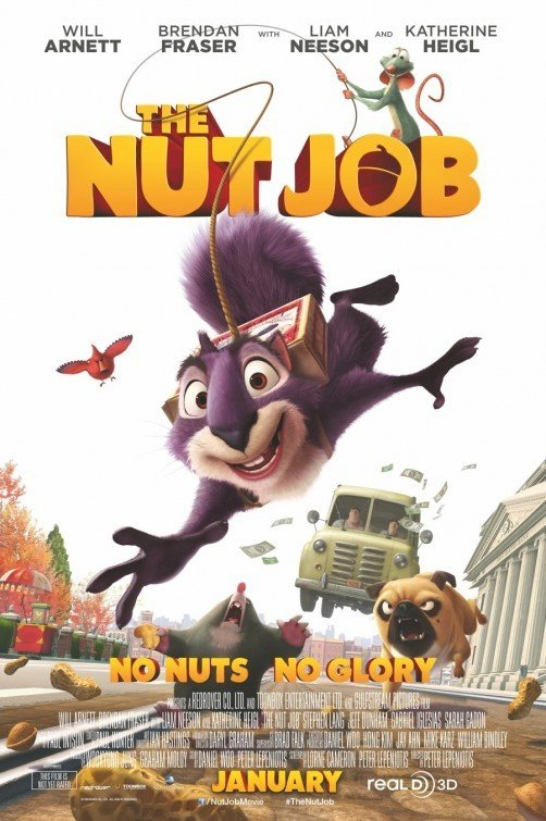 The Nut Job: nuovo poster U.S.A.