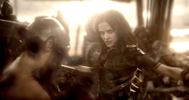 300: Rise of an Empire - Eva Green in battaglia