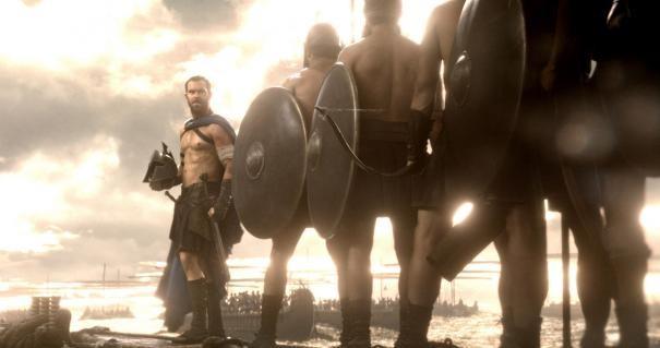 300: Rise of an Empire - Sullivan Stapleton inconraggia i suoi uomini