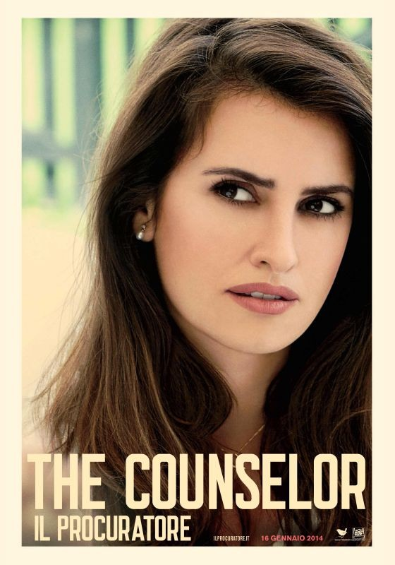 The Counselor - Il procuratore: character poster italiano per Penelope Cruz