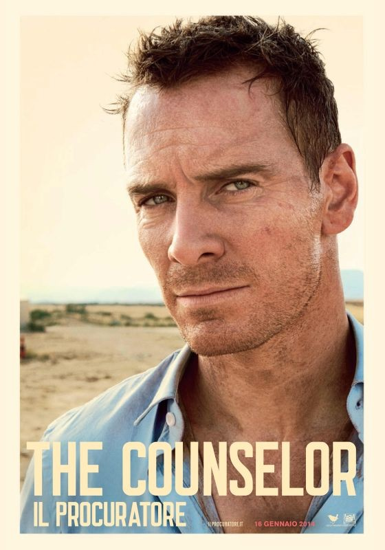 The Counselor - Il Procuratore: character poster per Michael Fassbender