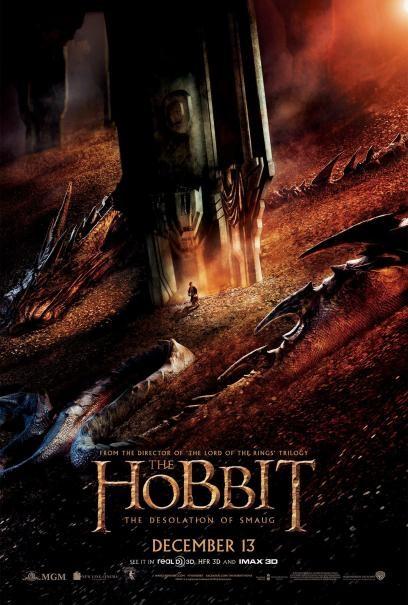 The Hobbit: la desolazione di Smaug - Il nuovissimo poster del film