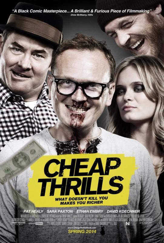 Cheap Thrills: la nuova locandina del film
