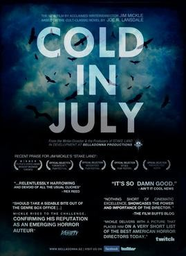 Cold in July: il teaser poster del film