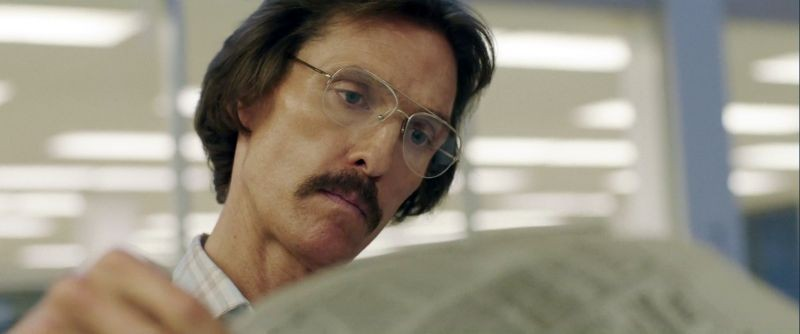 Dallas Buyers Club: Matthew McConaughey dimagrito e pallido nei panni Ron Woodroof, un malato di AIDS