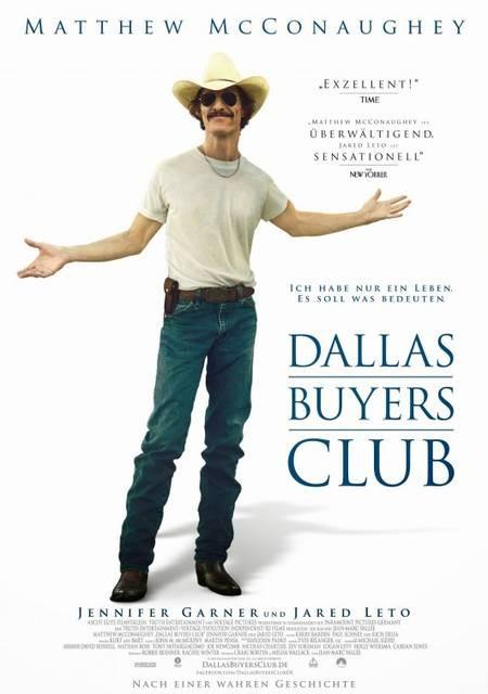 Dallas Buyers Club: poster tedesco del film