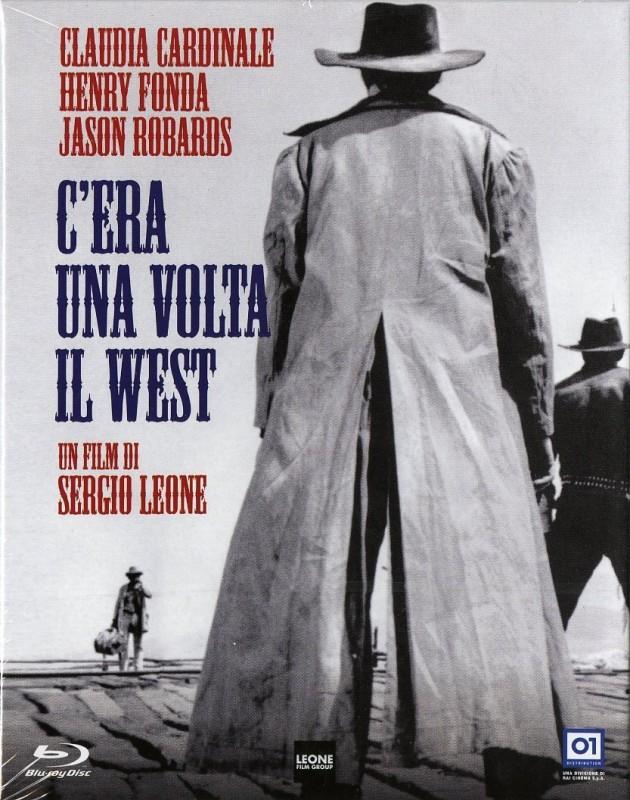 La copertina di C\'era una volta il west (blu-ray)