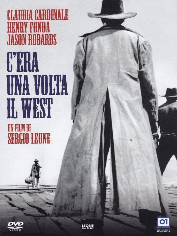 La copertina di C\'era una volta il west (dvd)
