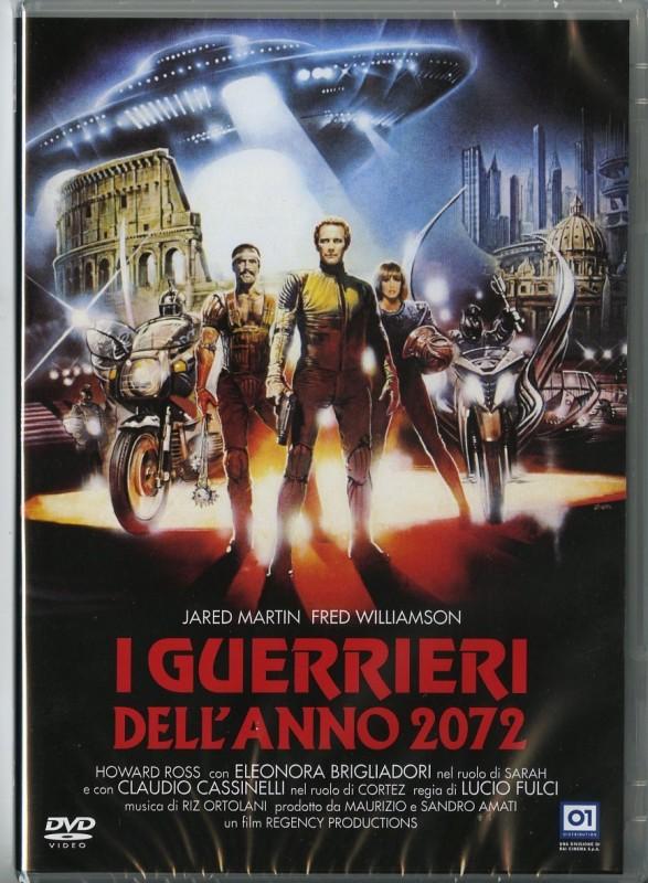 La copertina di I guerrieri dell\'anno 2072 (dvd)