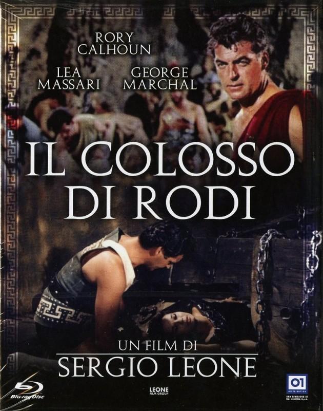 La copertina di Il Colosso di Rodi (blu-ray)