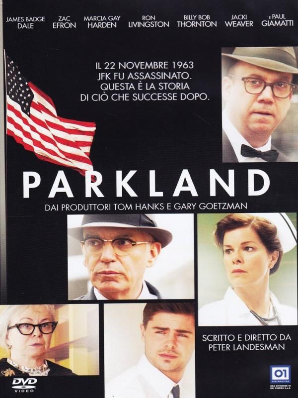 La copertina di Parkland (dvd)