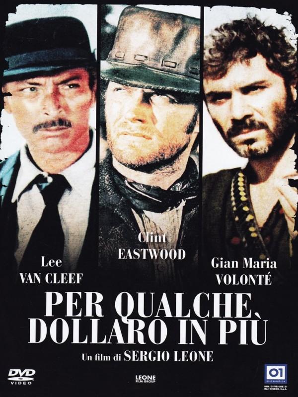 La copertina di Per qualche dollaro in più (blu-ray)