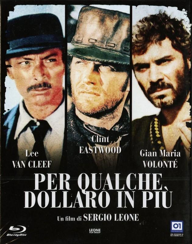 La copertina di Per qualche dollaro in più (dvd)
