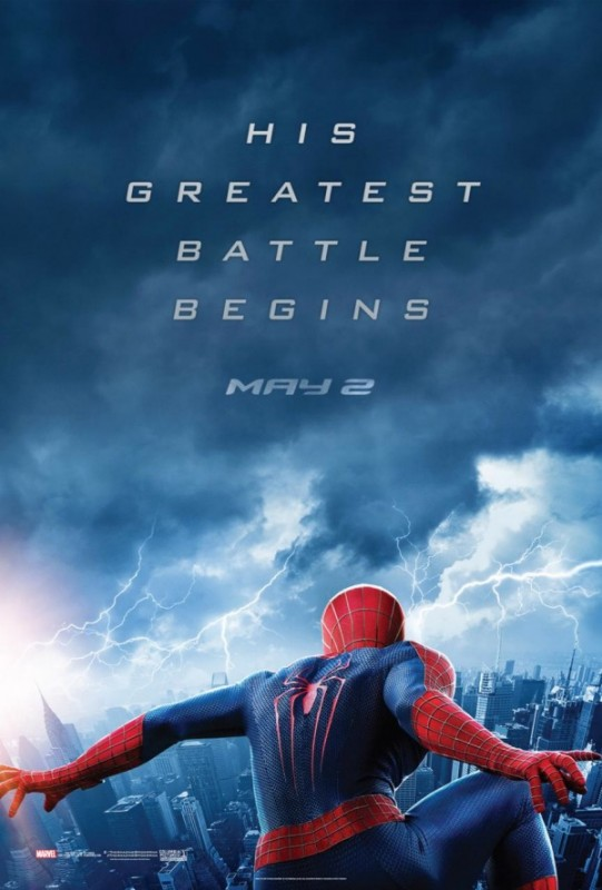 The Amazing Spider-Man 2: la locandina americana