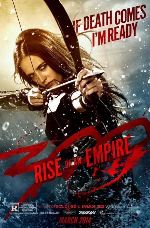 300 - L'alba di un impero:  character poster per Eva Green