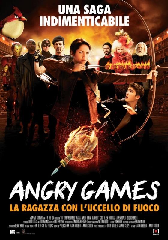 Angry Games - La ragazza con l'uccello di fuoco: la locandina italiana del film