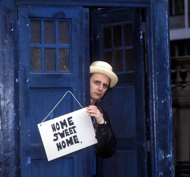 Doctor Who: il settimo Dottore Sylvester McCoy