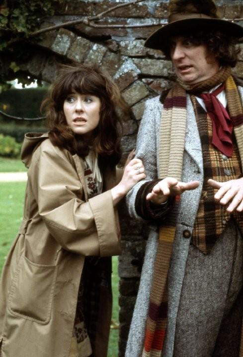 Doctor Who: Tom Baker ed Elisabeth Sladen in The Seeds of Doom