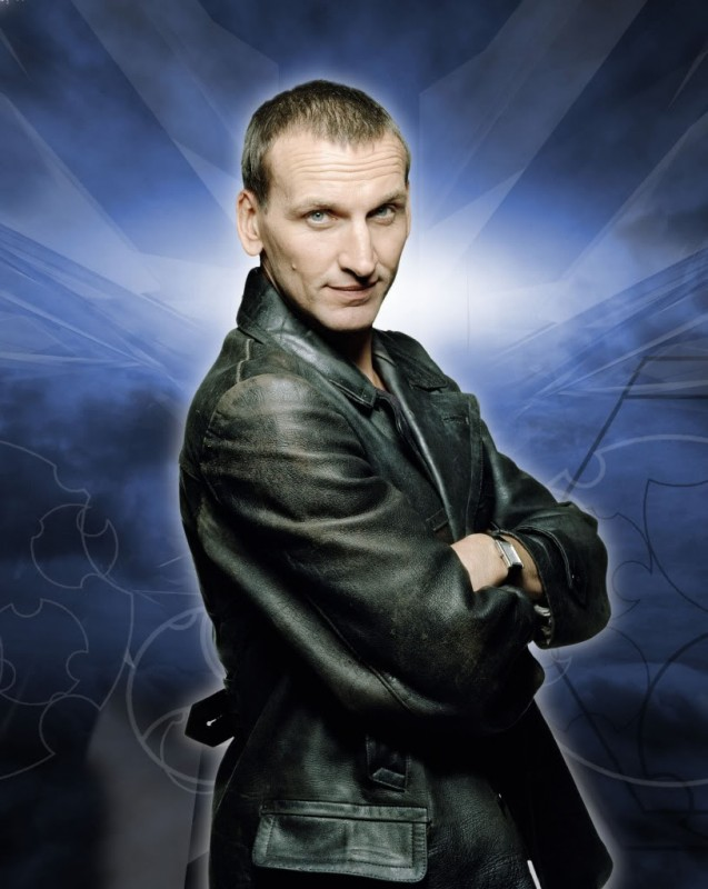 Doctor Who: una foto del nono Dottore Christopher Eccleston