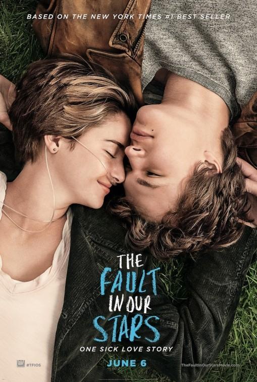The Fault in Our Stars: la locandina del film